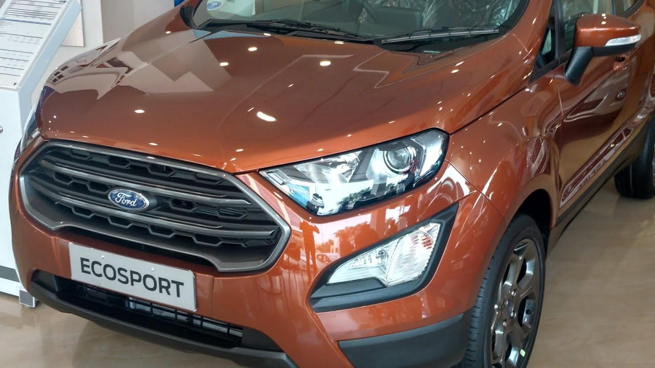 2018 All New Ford Ecosport With Fun Roof Titanium S