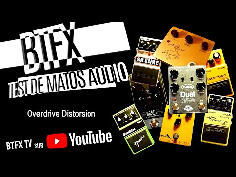 BTFX Overdrive Distorsion