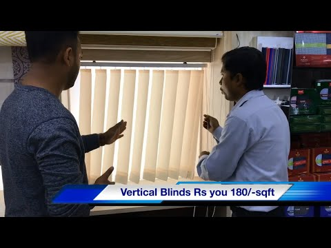 Window Blinds Details Video In Hindi   Vertical Blinds , Zebra Blinds, Roller Blinds Details