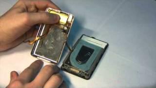 Замена аккумулятора iPod Video