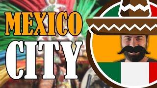 EMRE MEKSİKA'DA 3. BÖLÜM - Mexico City Şehir Turu