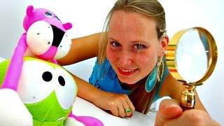 Видео для детей. Ам Ням и Розовая пантера