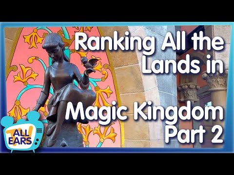We're Ranking ALL The Lands In The Magic Kingdom! Which One Will Be Crowned The Winner?!