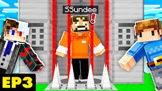 Building a PRISON in the SKY w/ SSUNDEE & FRIENDS - EP.3 (SkyFactory)