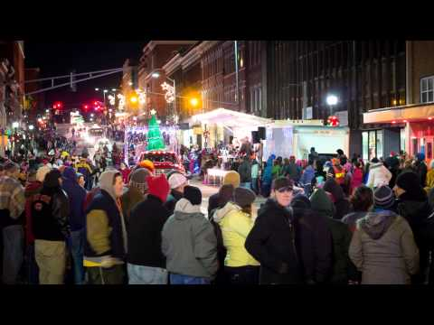 The Holiday Season in Downtown Bangor: 1996 vs. 2013