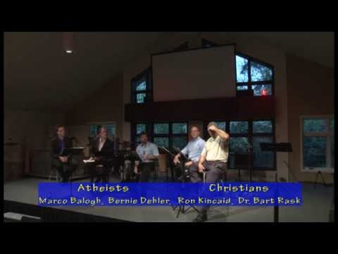 8th Grade Atheist asks Creationist about Evolution