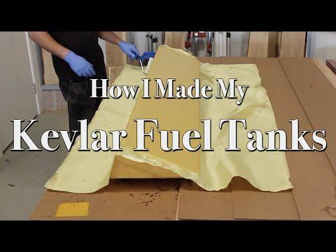How I Made My Kevlar Fuel Tanks | Making a Composite Fuel Tank for a Boat | Kevlar Carbon Fibre Tank