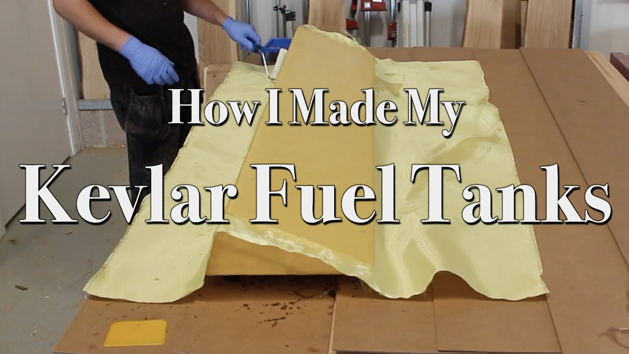 How I Made My Kevlar Fuel Tanks | Making a Composite Fuel Tank for a Boat |  Kevlar Carbon Fibre Tank