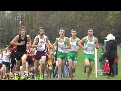 WPIAL  XC  boys  AA 10 27 16 PIAA district 7 Championships russell