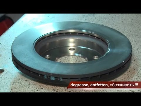 [ MERCEDES A CLASS ] Замена передних тормозных колодок и дисков. How To Replace Disc Brakes.