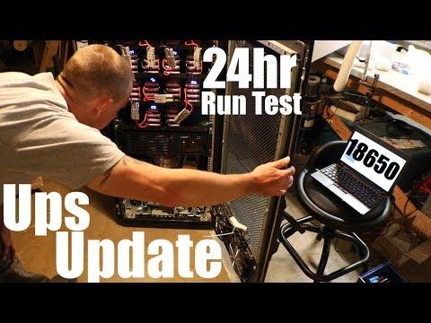 Diy Tesla Powerwall ep51 48v Ups 24hr Test Run Update