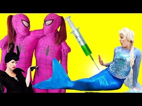 Best Real Life Fun 2016: Hypnosis to Blame and Princess Elsa Pink Spiderman