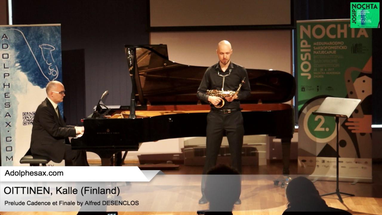 Prelude, Cadence et Finale by  Alfred Desenclos  – OITTINEN, Kalle (Finland)
