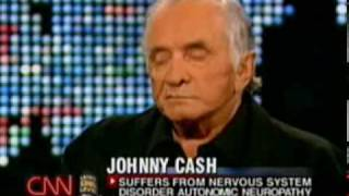Larry King Live with Johnny Cash (2002) part 1