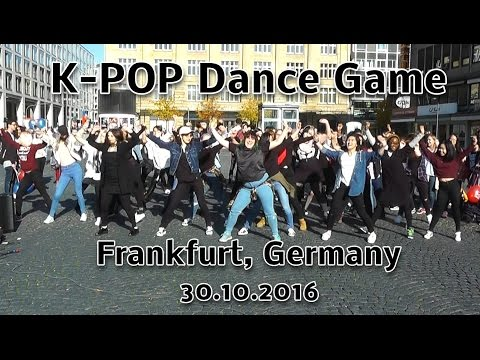 KPOP Dance Game (Flashmob) Frankfurt Germany 2016