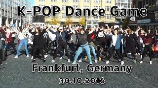 KPOP Dance Game (Flashmob) Frankfurt Germany 2016