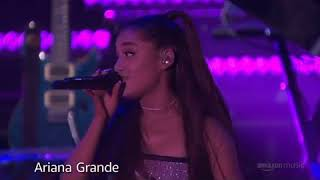 Ariana Grande - Let Me Love You Live At Amazon prime day