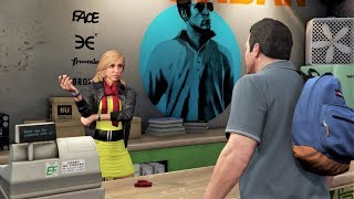 GTA V Sotry Mode#6 Grass Roots Michael+Friend Request By GameOn2704