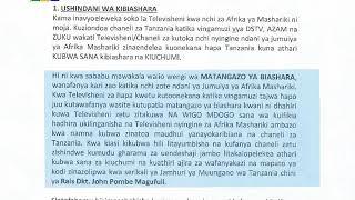 Download lagu MAONI KUHUSU KUONDOLEWA KWA FTA TV KWENYE VING'AMUZI VYA DSTV, AZAM PAMOJA NA  ZUKU.