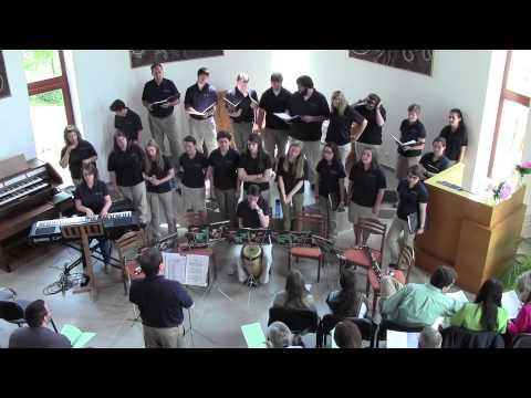 MVNU 2013 Collegians Chorale Mission Trip at the BUDAKESZI METHODIST CHURCH