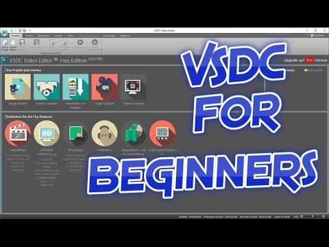 Learn to use VSDC video editor in 15 minutes - Good audio