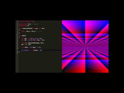 WebGL Paris 2015 - Raymarching en Live Coding