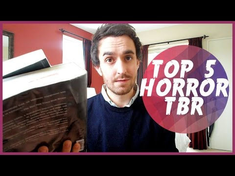 TOP 5 HORROR BOOKS I WANT TO READ!