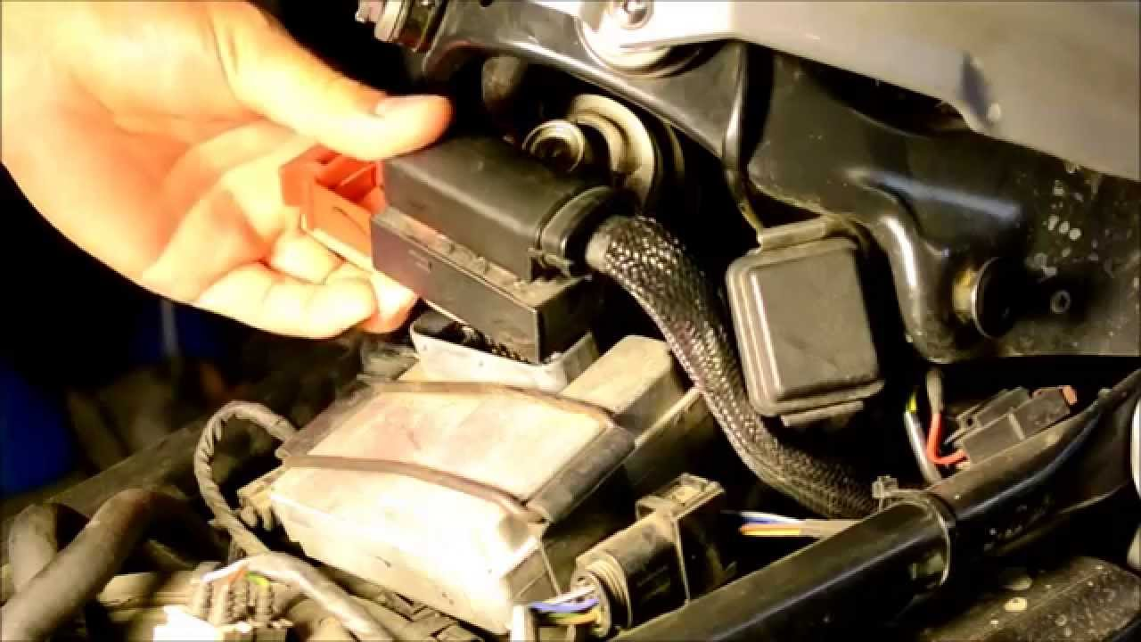 bmw  gs motorcycle resetting computer  fix