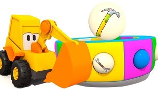 Kids Learning Tools with Excavator Max Cartoon: A Toddler Learning Video - Baby Learning English