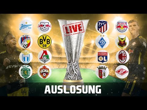 Auslosung EUROPA LEAGUE Achtelfinale   Borussia Dortmund, RB Leipzig