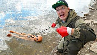 Нашли пришельца на магнитной рыбалке где затонула летающая тарелка и другие жуткие находки