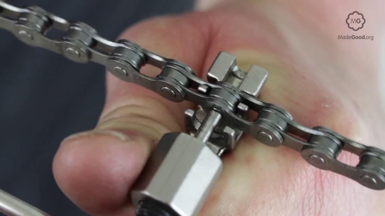 Moto Motorbike Heavy Duty Steel Chain Breaker Breaking Tool