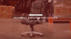 Assembly: Ergonomic Executive Office Chair (SKY2839)