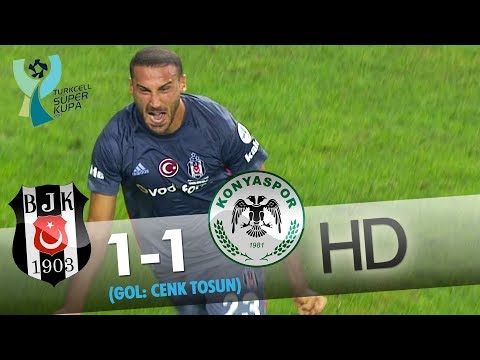 Beşiktaş: 1 - Konyaspor: 1 | Gol: Cenk Tosun