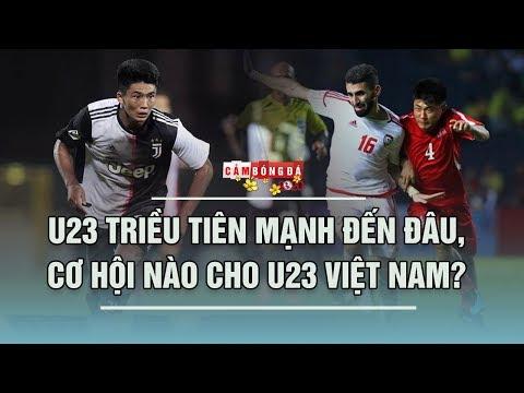 U23 Triều Tiên Mạnh đến đâu Khi Có Ngôi Sao Khoác áo Juventus?