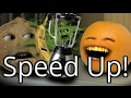 Annoying Orange - He Will Mock You (Speed Up!)