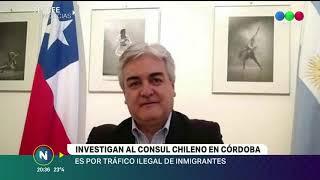 INVESTIGAN AL CONSUL CHILENO EN CORDOBA