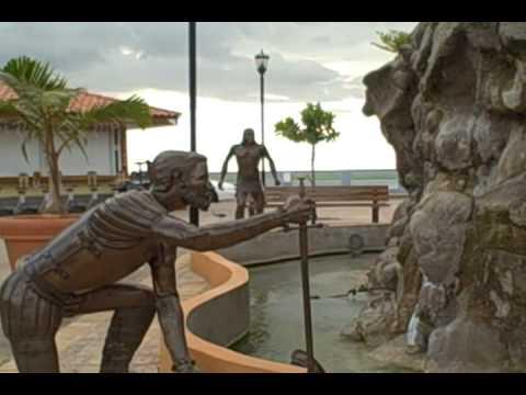 Parques la Fuente de la Juventud y el Paterre en Aguadilla, Puerto Rico