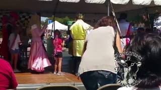 Adventures in Dance with Cartoon Princesses and Chinese Dragon at t...