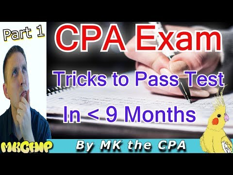How To The Cpa Exam Quickly While Working How To Study For Cpa Exam Part Of