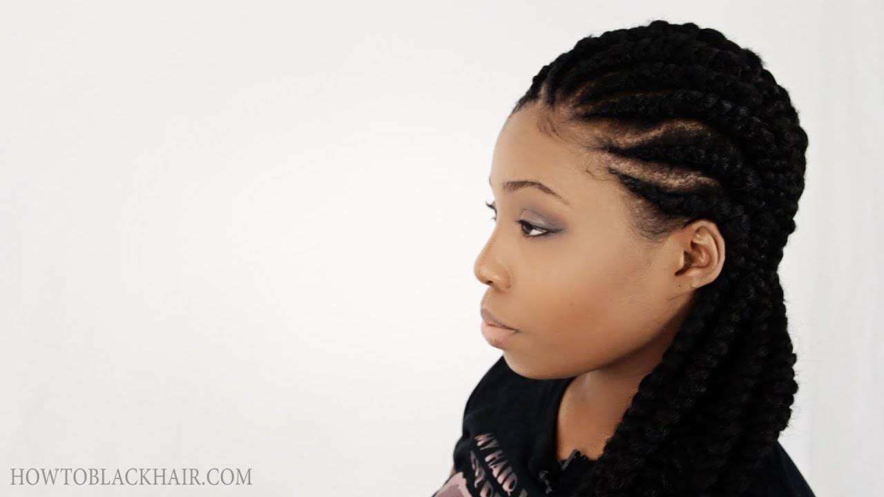 Carrot Braiding Hairstyles | Fade Haircut