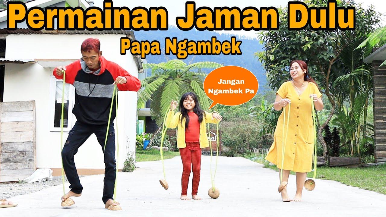 Drama Usir Bosen Keluarga Marsya    Papa Ngambek gara gara bermain Permainan Jaman Dulu