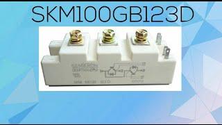 Semikron SKM100GB123D Power Transistor Module