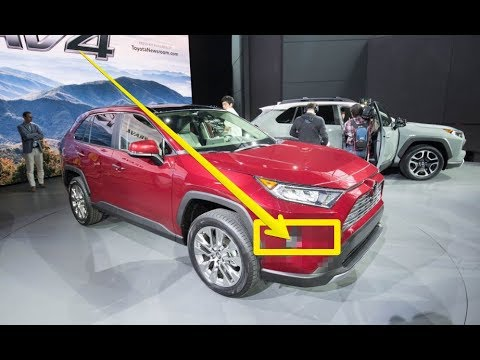 Toyota Rav4 2019 The Best Small Suv 2018 New York Auto Show First Look Review