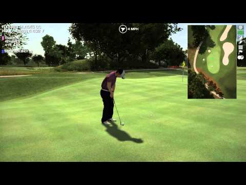 Perfect Golf Playthrough Part 7: Sawgrass Back 9 with Tracy