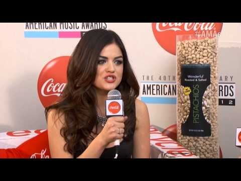 Lucy Hale Red Carpet Interview - AMA 2012