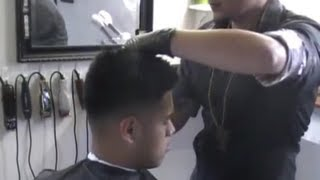 Comb over, 2013, Bald Fade, taper fade, comb over haircut, clipper over comb, scissors over comb