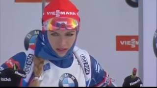 2017.01.06 - Биатлон - Кубок Мира 2016-2017, спринт, женщины - UA-Перший