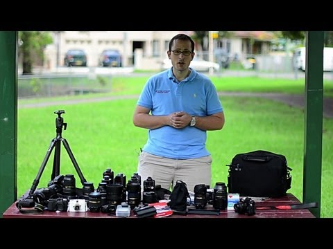 What's in my camera bag(s) - my Nikon Gear