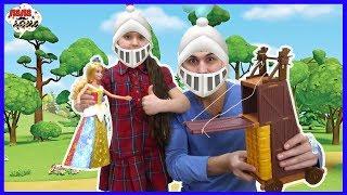 Дядя Бу и Соня спасают принцессу от нечисти Оборона замка